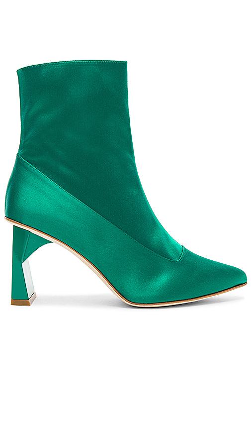 Tibi Alexis Bootie in Green