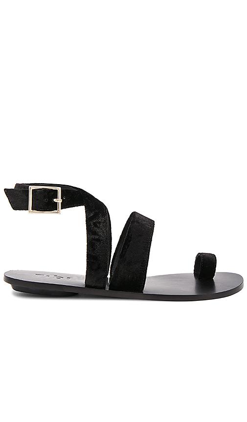 Photo of Tibi Hallie Sandal in Black - shop Tibi shoes sales