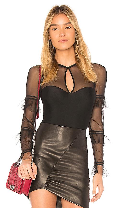 Thistle & Spire Lorimer Bodysuit in Black. - size XS (also in S)