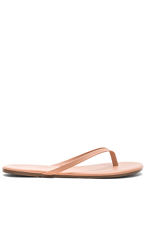TKEES Foundations Flip Flops in Blush