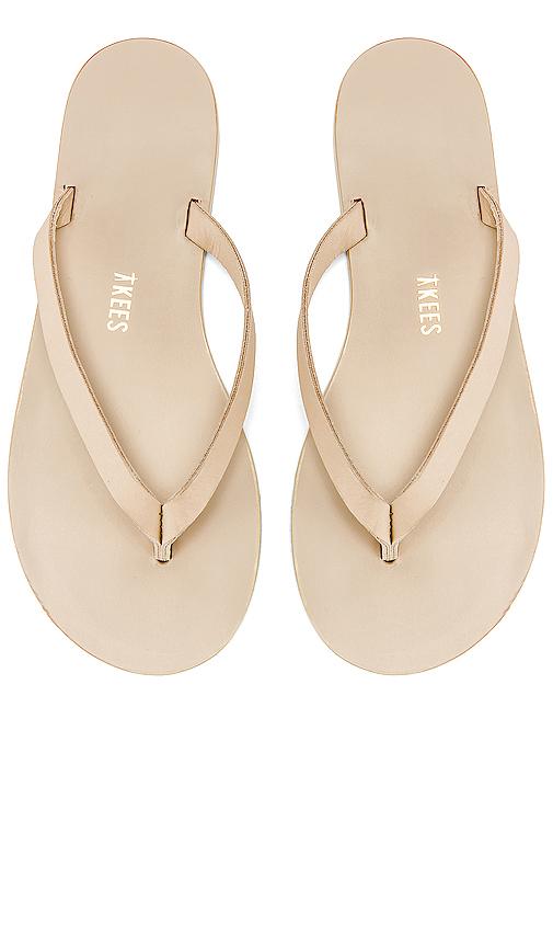 TKEES Jane Sandal in Cream
