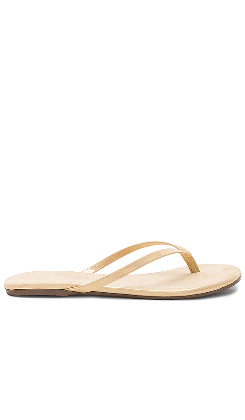 TKEES Sandal in Metallic Gold