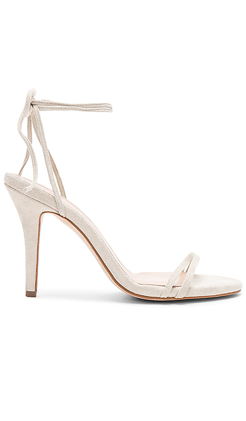 The Mode Collective Barely There Sandal in Beige
