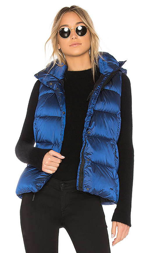 The North Face Novelty Nuptse Vest in Blue