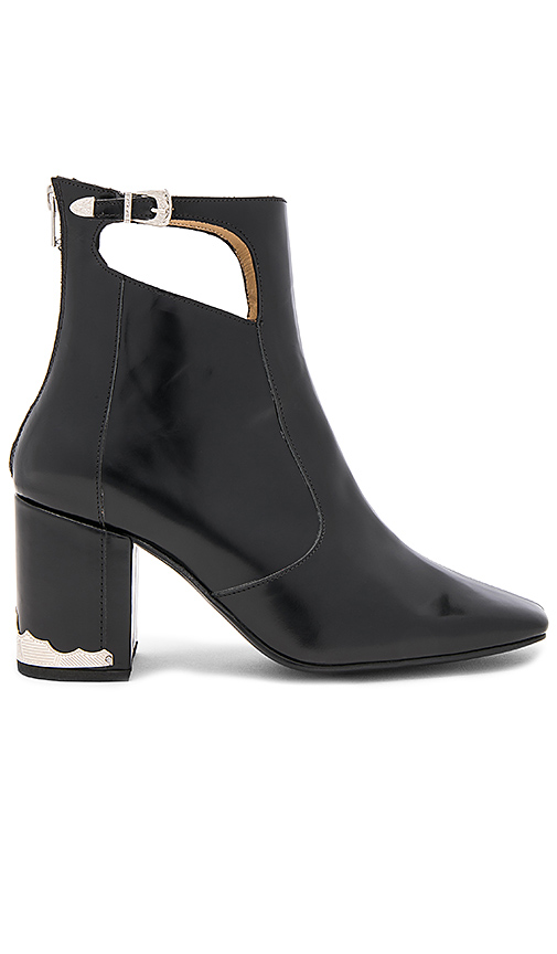 TOGA PULLA Cut Out Bootie in Black
