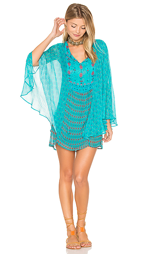 Tolani Sanya Dress in Turquoise