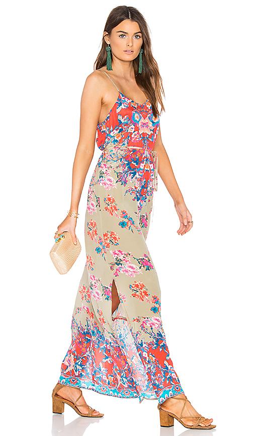Tolani Naomi Dress in Coral