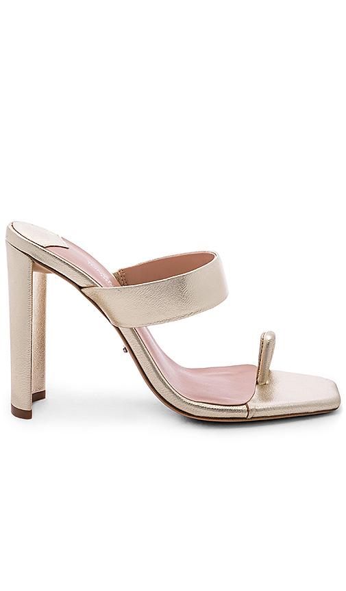 Tony Bianco x REVOLVE Sapphire Heel in Metallic Gold