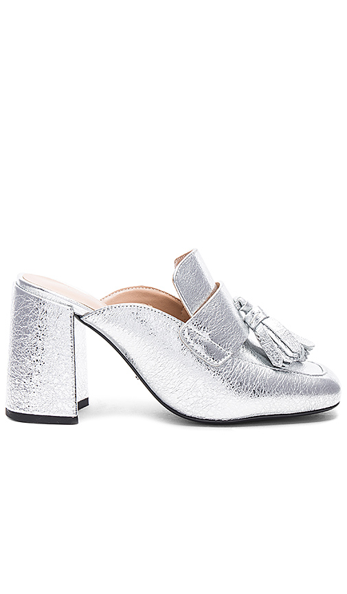 Tony Bianco Caya Mule in Metallic Silver
