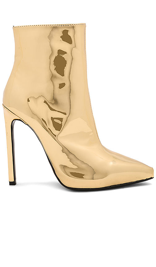 Tony Bianco Freddie Bootie in Metallic Gold