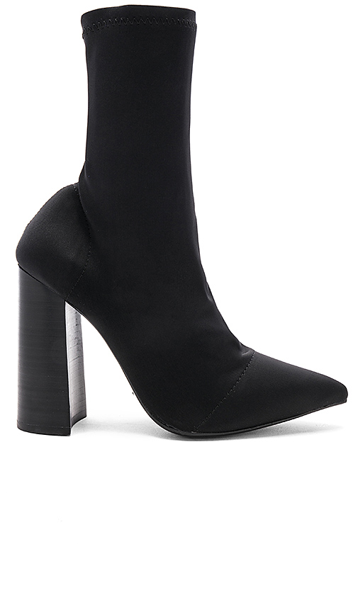 Tony Bianco Diddy Bootie in Black