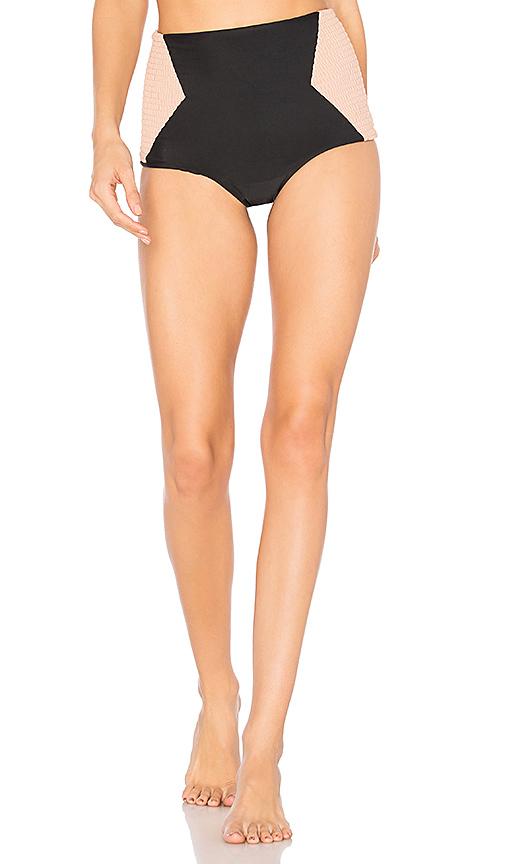 Tori Praver Swimwear Francesca Bottom in Black