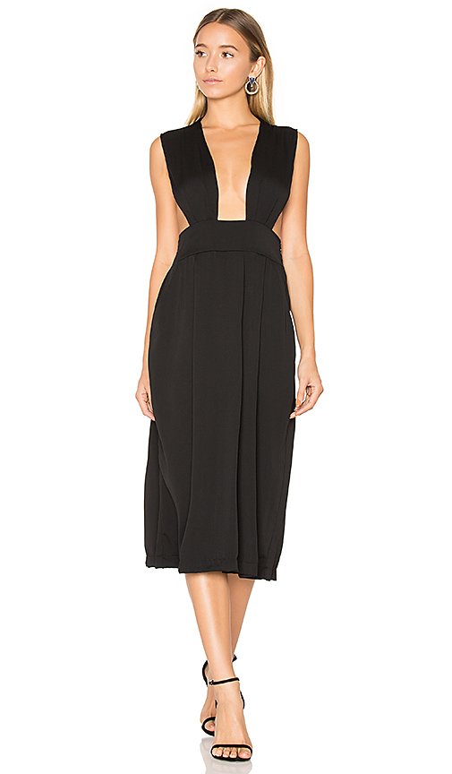 TROIS Elaine Dress in Black