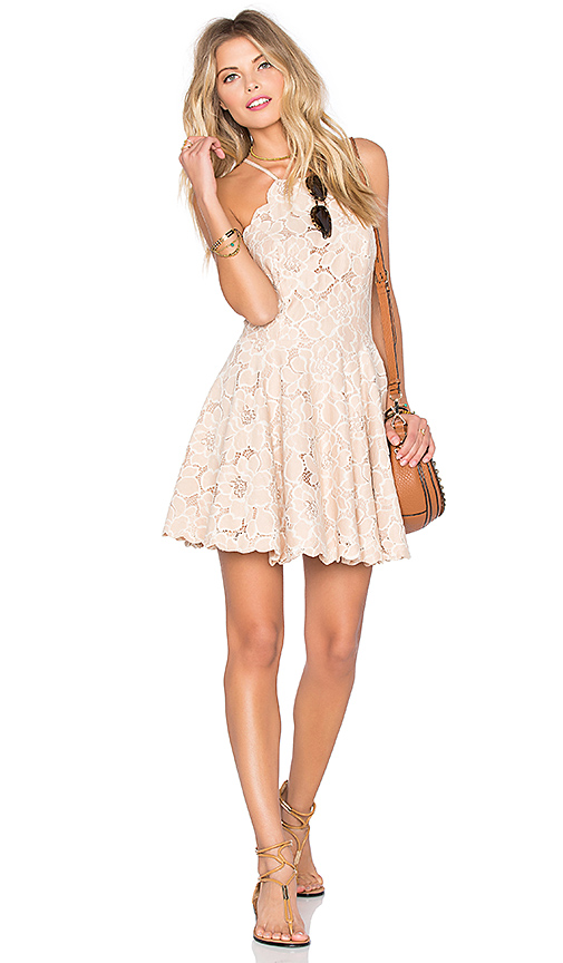 Tularosa Cyrus Dress in Blush