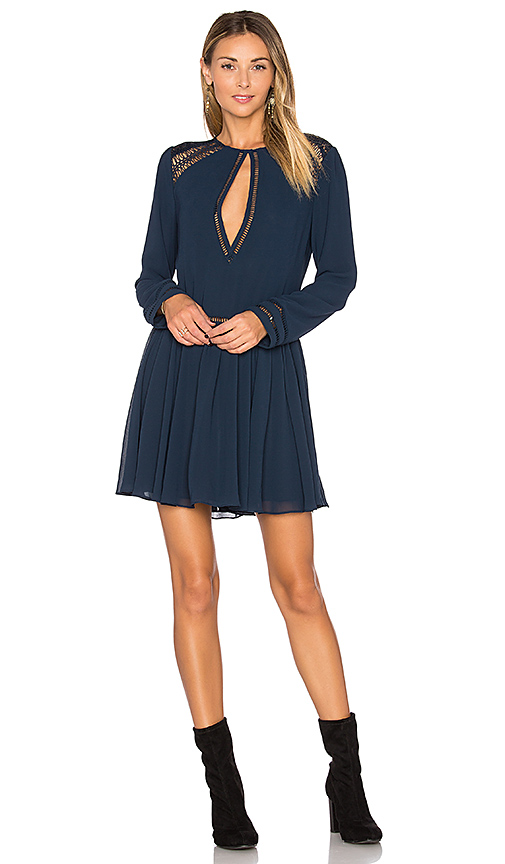 Tularosa Easton Dress in Navy