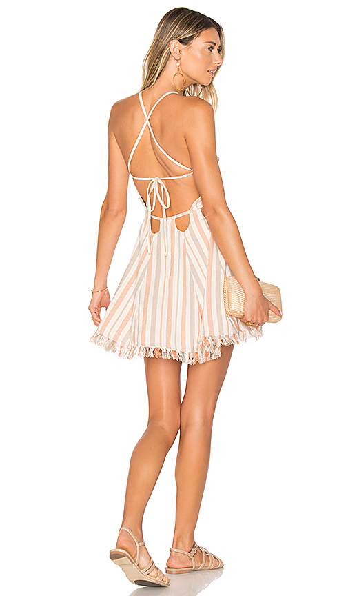 Tularosa Helix Dress in Pink