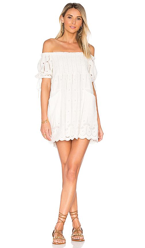 Tularosa Quinn Dress in White