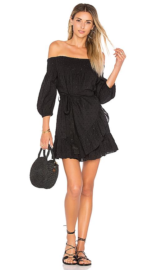Tularosa x REVOLVE Maida Ruffle Dress in Black
