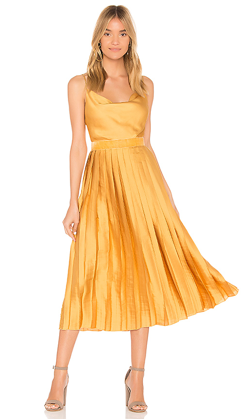 Tularosa Mel Dress in Yellow. - size S (also in XS,M,L,XL)