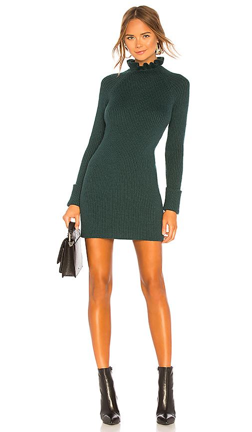 d10b5db5933 Tularosa May Sweater Dress in Green