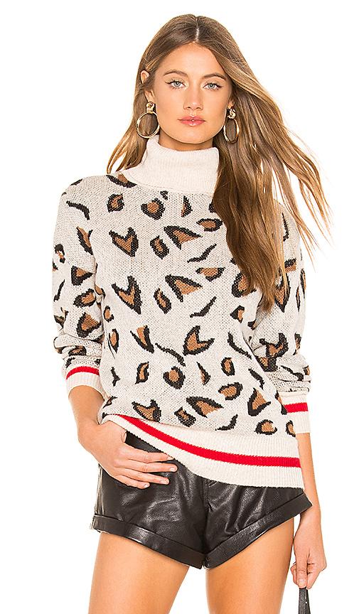 TULAROSA | Tularosa Jungle Sweater In Tan. - Size XS (Also In M) | Goxip