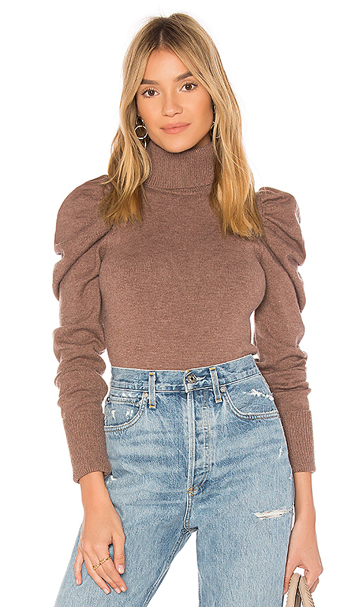 Tularosa Raelynn Sweater in Mauve. - size S (also in XS,L)