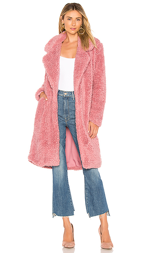 TULAROSA | Tularosa Long Violet Shag In Mauve. - Size XS (Also In M,S) | Goxip