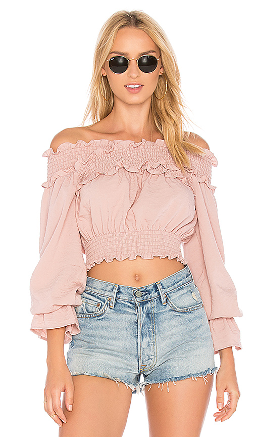 Tularosa x REVOLVE Cindy Top in Pink