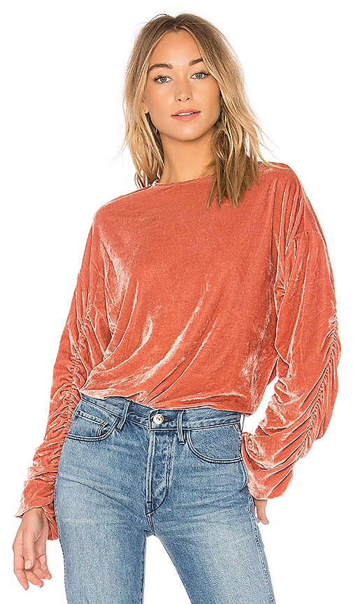 Tularosa Lexi Top in Rose