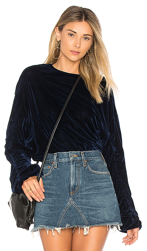Tularosa Lexi Top in Navy