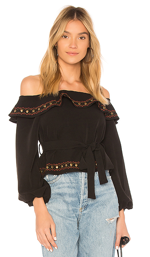 Tularosa Lucy Top in Black
