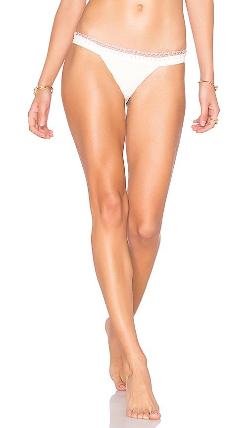 Tularosa Lexi Bikini Bottom in White