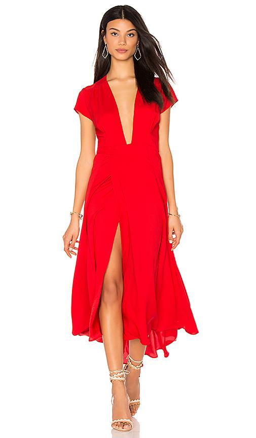 Two Arrows Felix Dress in Red
