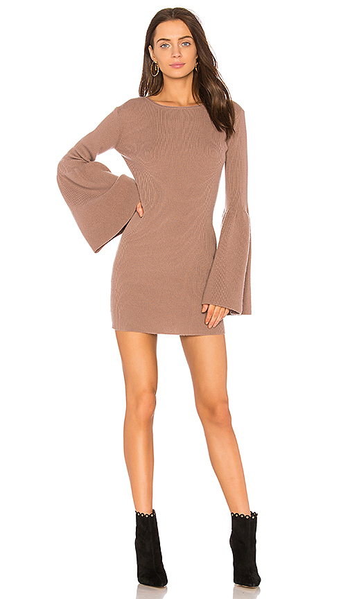 ThePerfext Olivia Dress in Mauve