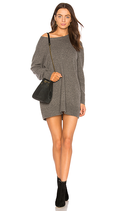 ThePerfext Sofia Dress in Gray