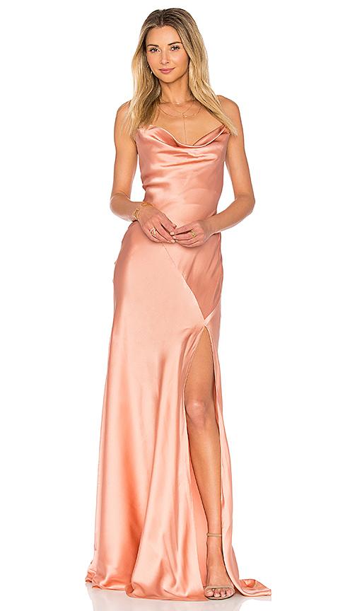 AMUR Karlie Gown in Blush. - size 6 (also in 0,2,4)