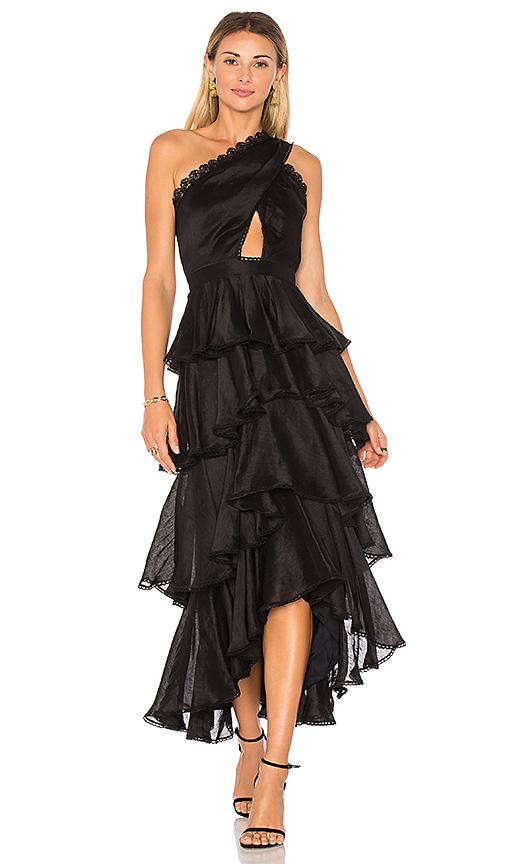AMUR Lena Dress in Black. - size 0 (also in 2,4,6)