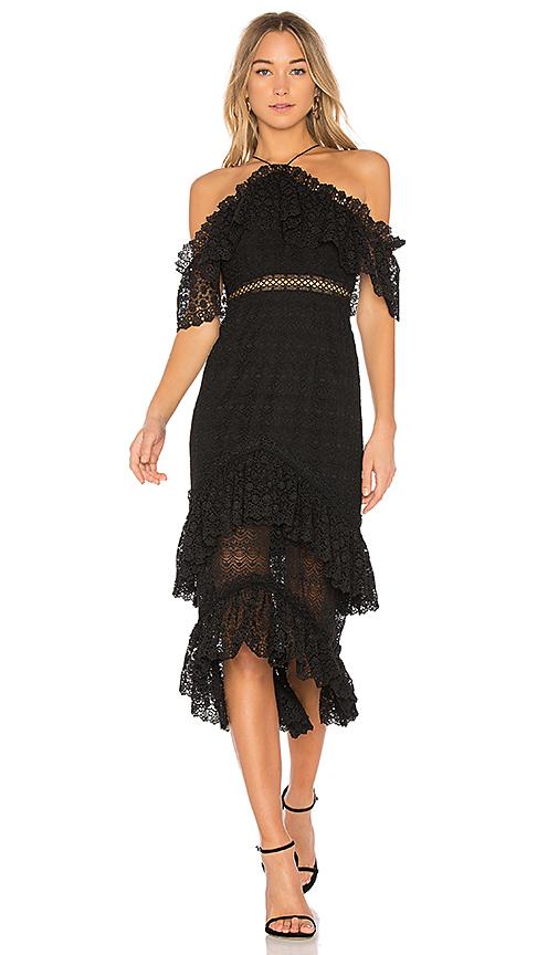 AMUR Valentina Dress in Black