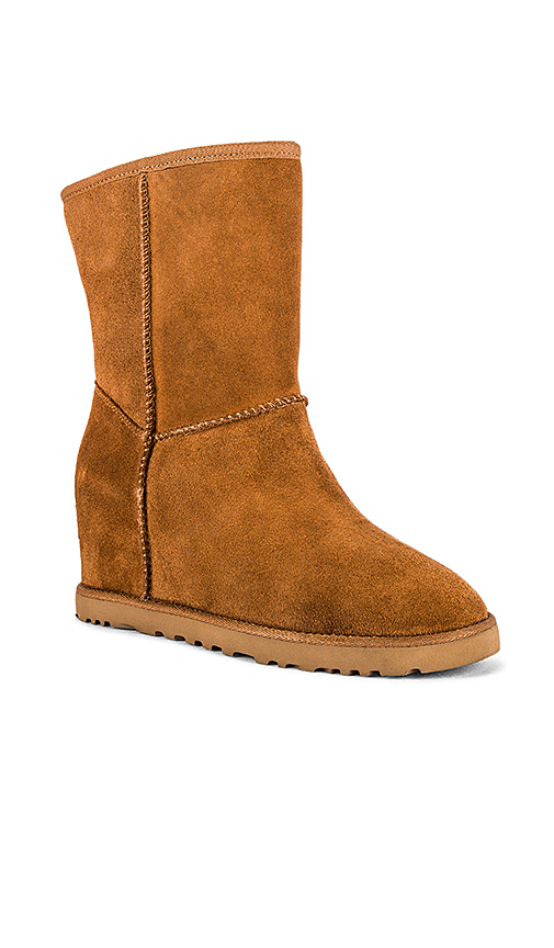 UGG Classic Femme Short Boot in Brown