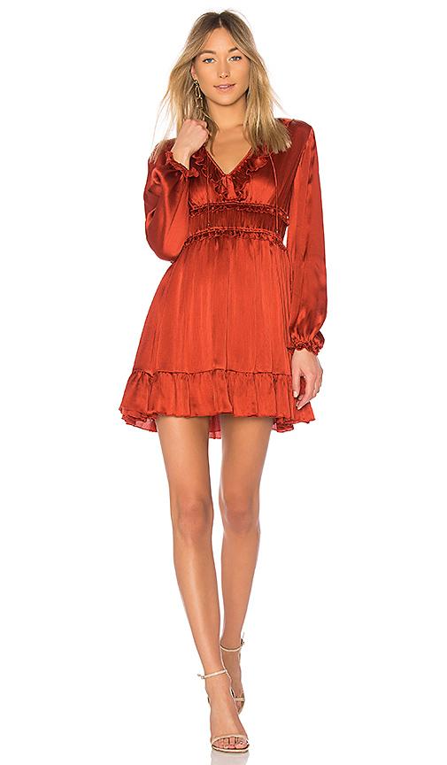 Ulla Johnson Callista Dress in Rust. - size 0 (also in 2,4,6)
