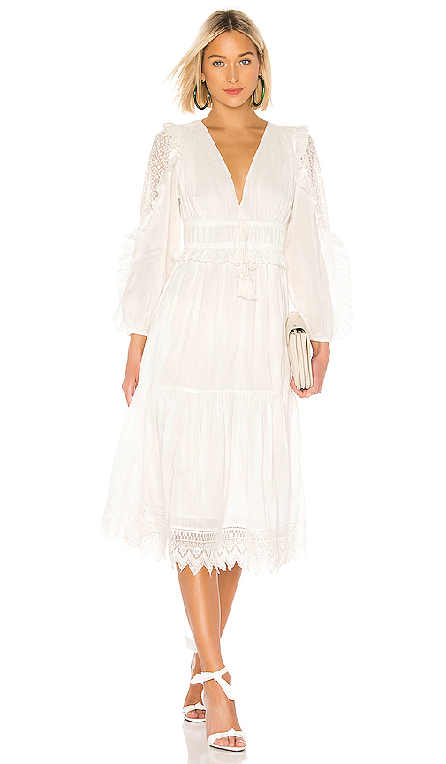 Ulla Johnson Dresses ULLA JOHNSON SHEILA DRESS IN WHITE.