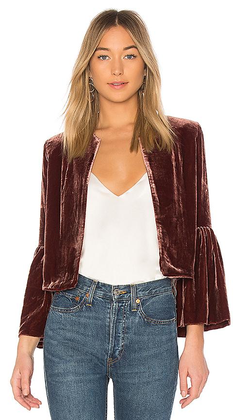 Ulla Johnson Mara Jacket in Mauve. - size 0 (also in 2,4,6)