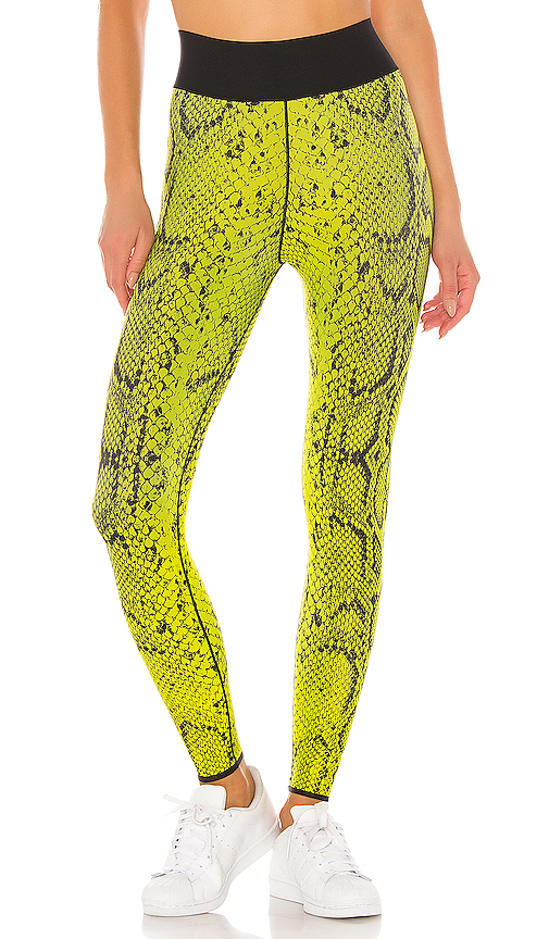 ultracor Ultra High Python Legging in Yellow. - size M (also in L,S,XS)
