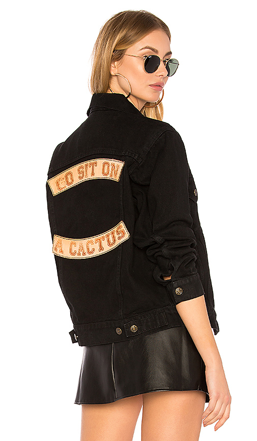 Understated Leather x REVOLVE Go Sit On A Cactus Jacket