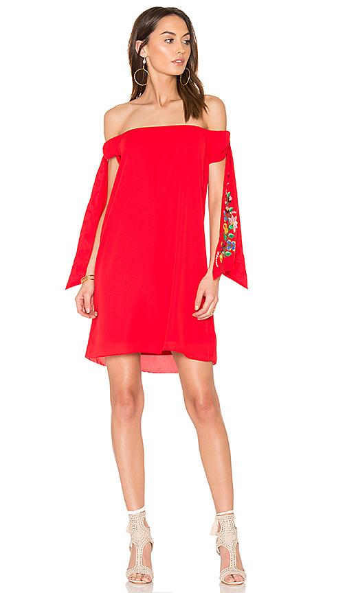 VAVA by Joy Han Engleberta Dress in Red