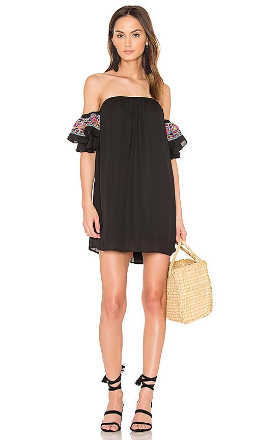 VAVA by Joy Han Lotus Dress in Black