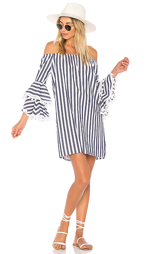 VAVA by Joy Han Celia Dress in Navy