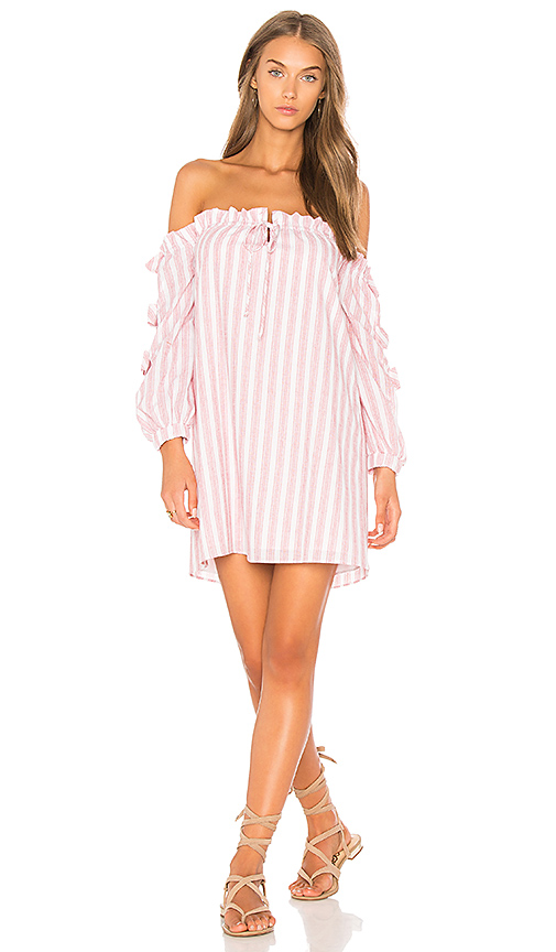 VAVA by Joy Han Bonnie Ruched Dress in Rose