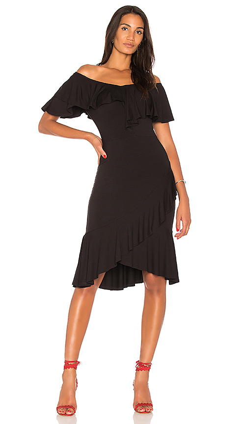 VAVA by Joy Han Anh Dress in Black