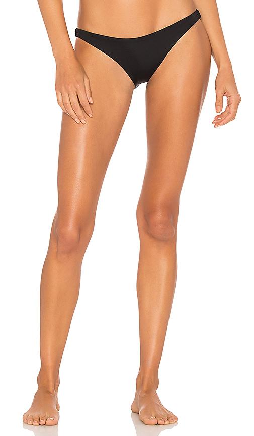 vitamin A Luciana Bikini Bottom in Black